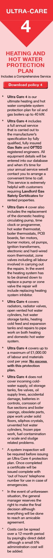 Hot Water Protection Plan Trowbridge